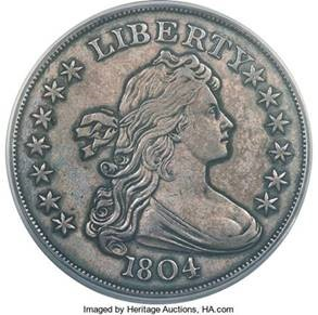 Mickley-Hawn-Queller 1804 Dollar