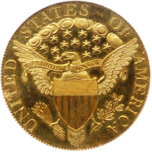 1804 $10 King of Siam reverse