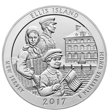 Ellis Island 5oz coin